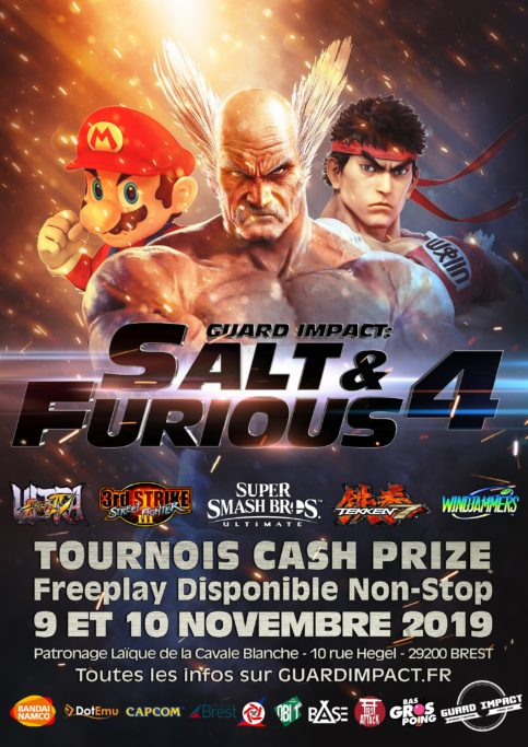 Guard Impact : Salt And Furious 4 - Tournois Cash Prize